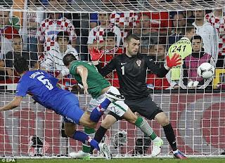 Euro 2012 Ailen Và Croatia Thua 1-3, Euro 2012 , video euro 2012
