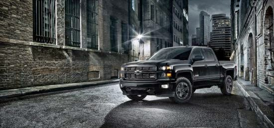 Chevrolet's 2015 Silverado Midnight Edition