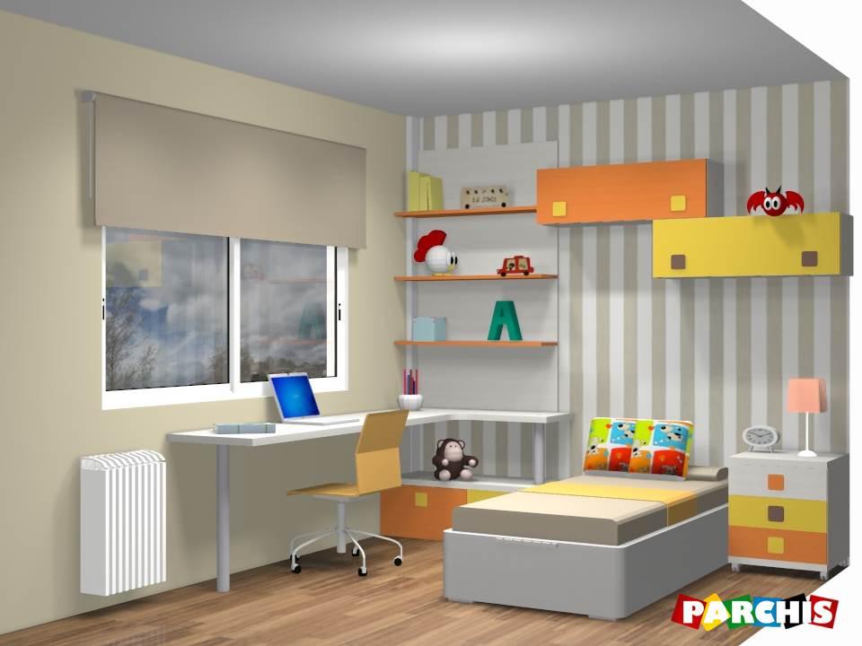 Muebles juveniles dormitorios infantiles y habitaciones - Ver habitaciones infantiles ...