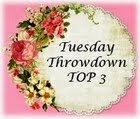 I WON A Tuesday Throwdown Badge!!!