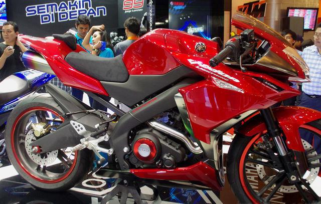 Top 10 modifikasi motor vixion 2013