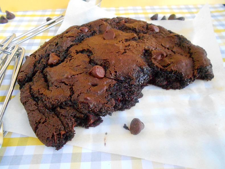 XXL Death By Chocolate Cookie For One - Confessions of a ...