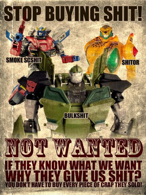 Worst Transformers, Bulkhead, Cheetor supreme, Smokescreen
