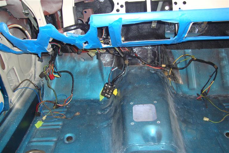1968 mustang convertible restoration harnessing the power 1968 mustang wiring harness diagram 68 Mustang Wiring Harness #8