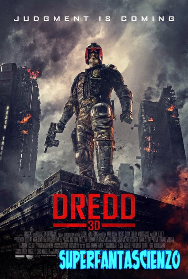 Dredd 2012 film recensione poster