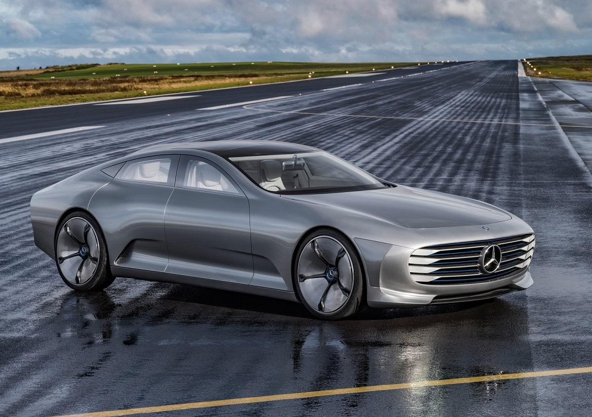 Mercedes benz concept iaa intelligent aerodynamic for New mercedes benz concept