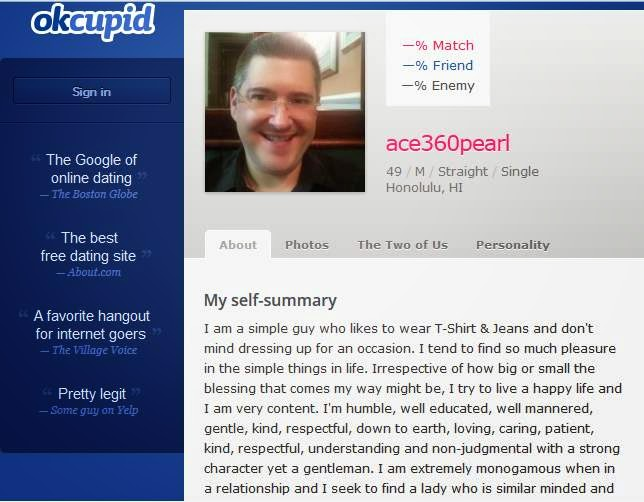 How to spot a scammer okcupid