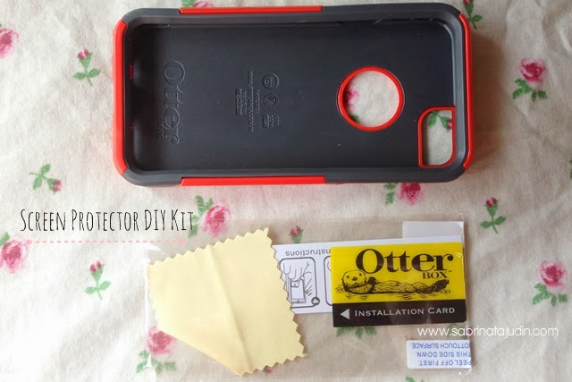 otter iphone case instructions