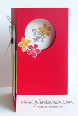 Stampin' Up! Petite Petals + Diorama Tutorial