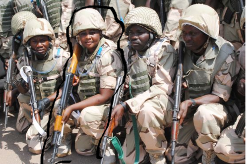 Nigerian Army Relocates Over 200 Female Soldiers