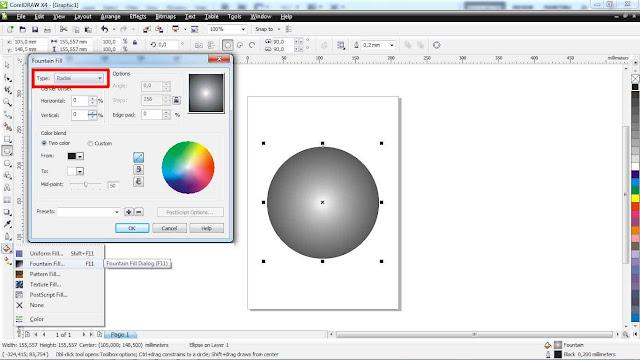 Bola 3D Dengan CorelDraw X4