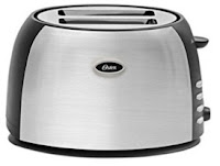 Oster TSSTJC5BBK 800-Watt 2-Slice Pop-up Toaster