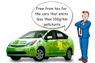 0% tax for green cars