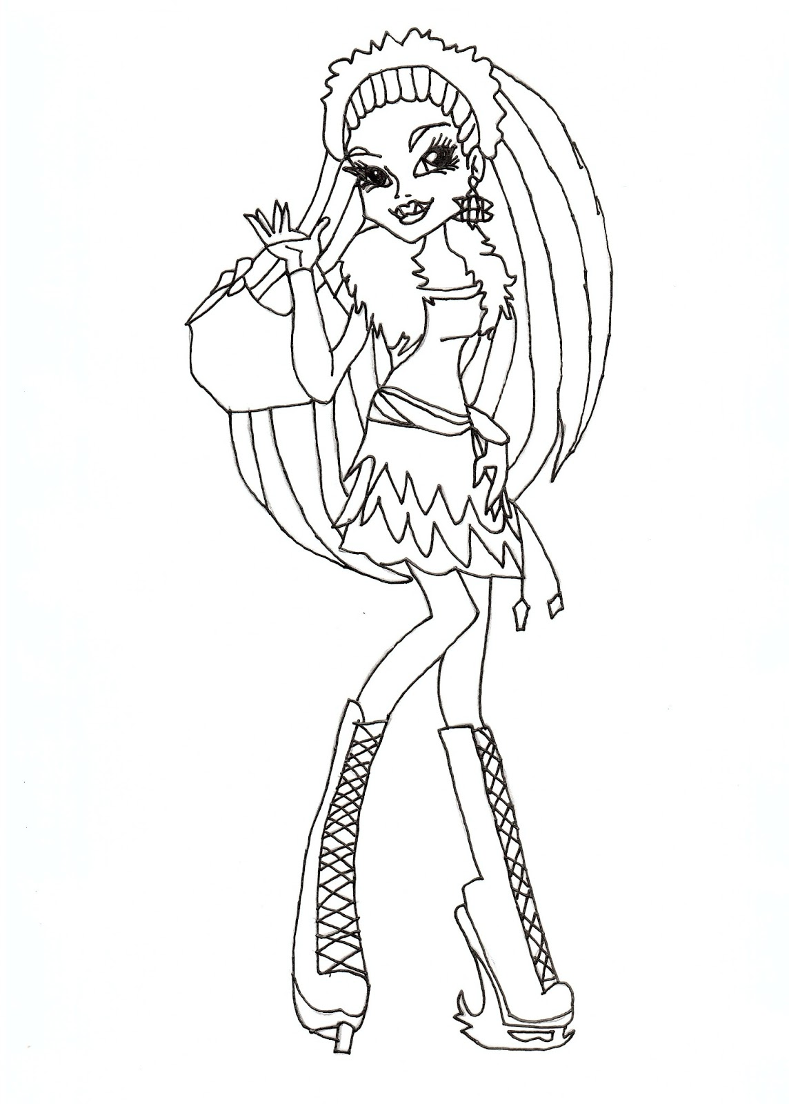 abbey bominable coloring pages - photo#40