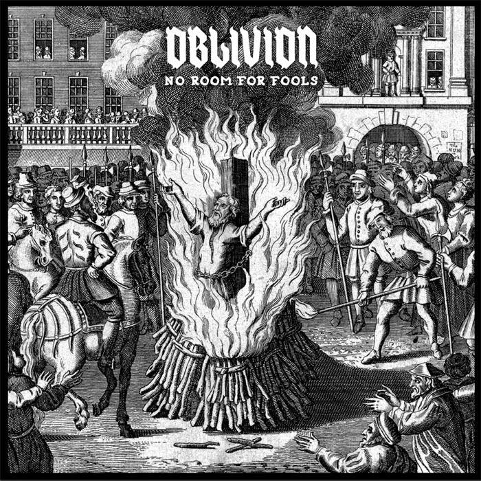 OBLIVION – No Room For Fools – LP
