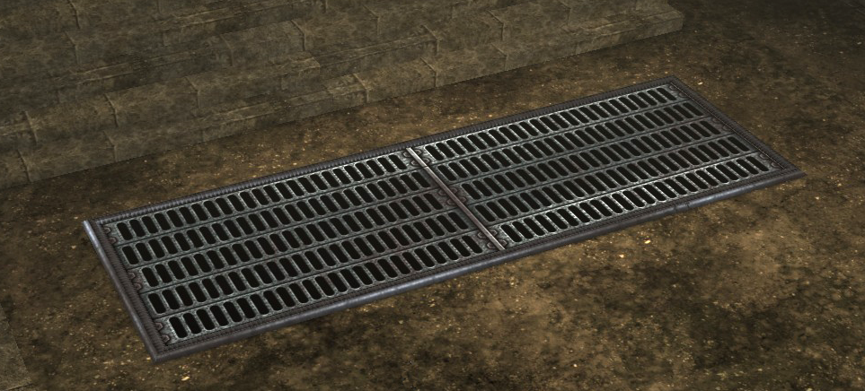 Dcuo Furniture Tarnished Floor Grate