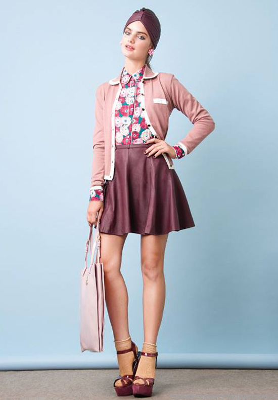 Moda otoño invierno 2014 Las Pepas moda invierno 2014.