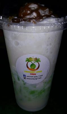 enak dimakan bersama Coconut (shake) King