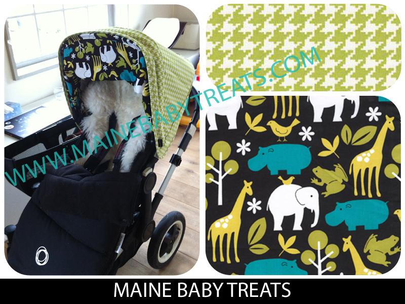 Custom Bugaboo Donkey Canopy & Maine Baby Treats - Custom Bugaboo Stroller Covers: Custom Bugaboo ...