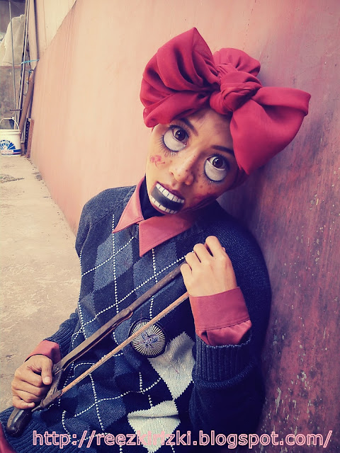 and Me as Ventriloquist DummyVentriloquist Dummies Makeup