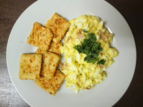 eggs, vegetarian, salad