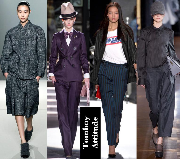 Women's Fall 2013/2014 Trends- Tomboy dress code