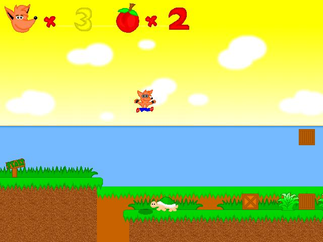 Crash bandicoot 2d Game Pc