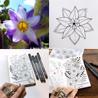 http://www.magamerlina.com/2015/09/mandala-flower-tutorial.html