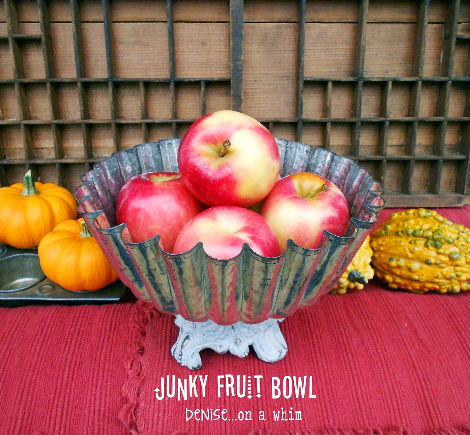 Junky Fruit Bowl from Denise on a Whim