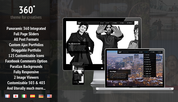 free wordpress theme themeforest of this month