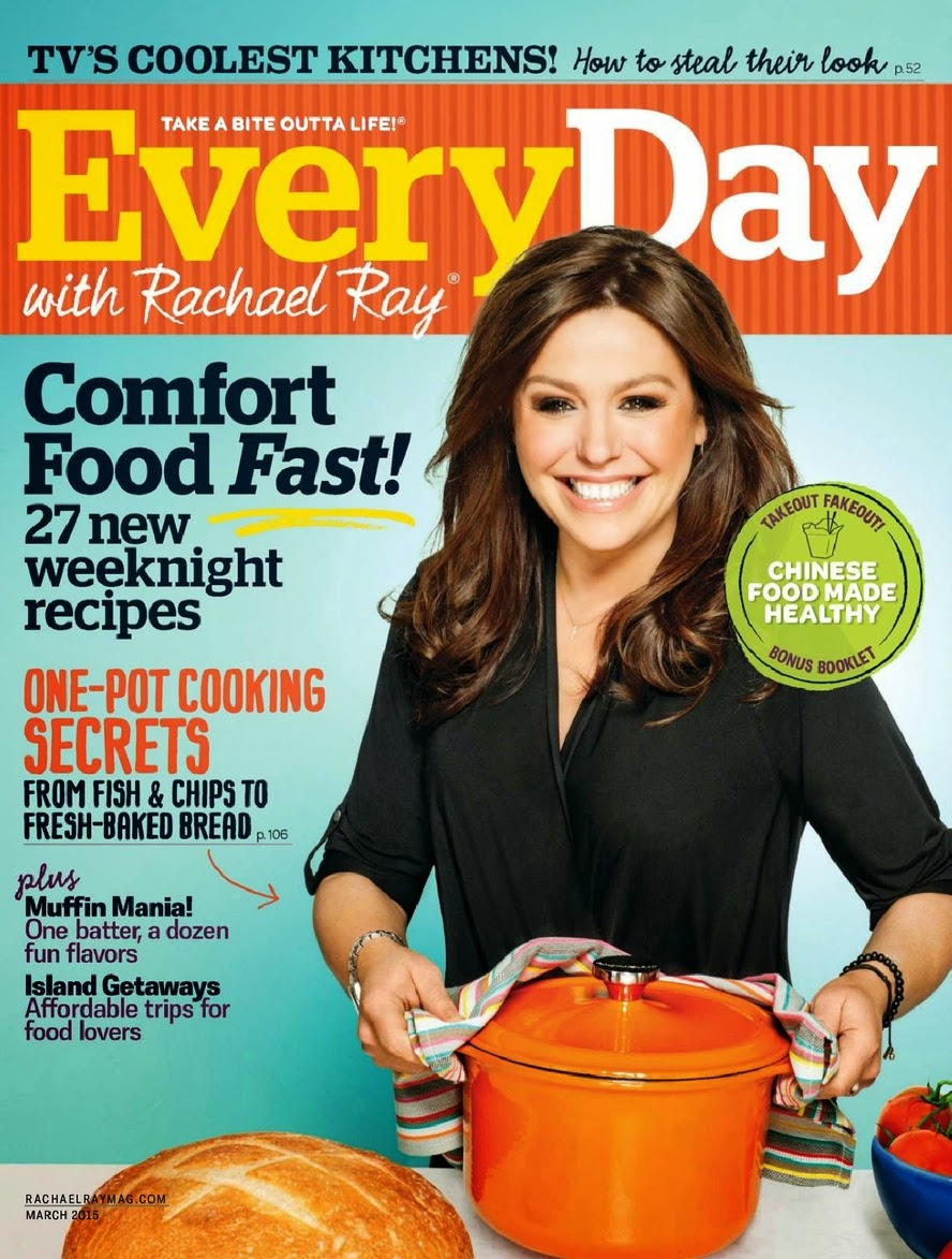 Television Host, Celebrity chef; Rachael Ray for Every Day with Rachael Ray