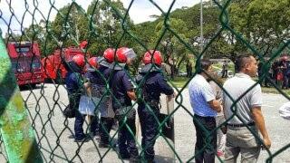 Rusuhan pekerja asing di kilang JCY Kulai Johor
