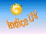 INDICE ULTRAVIOLETA
