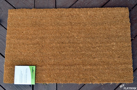 Home depot plain doormat