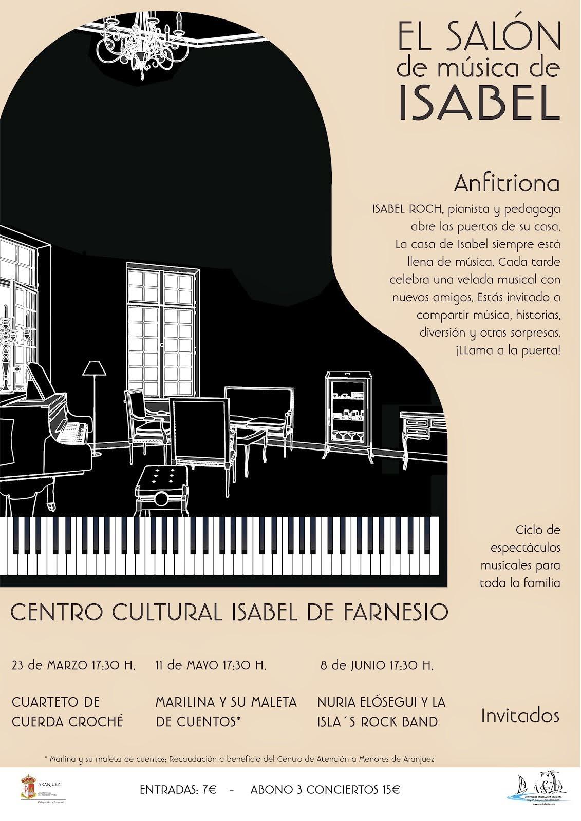 El salón de Música de Isabel