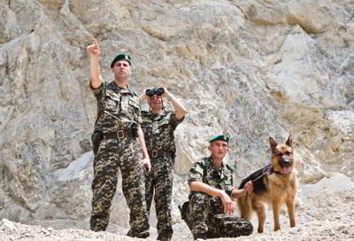 Фото Укринформ: пограничный наряд
