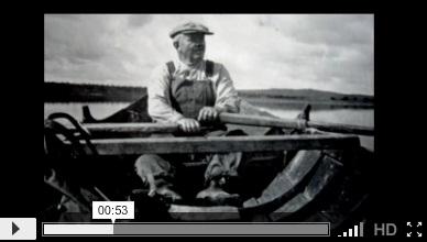 Lohijärven kylähistorian kuvakavalkaadi, video 2: kuvia ja airoja