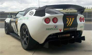 green powered supercharged loyus exige