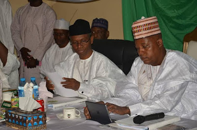 pICTURES Northern states of Nigeria governors meeting in Borno state.