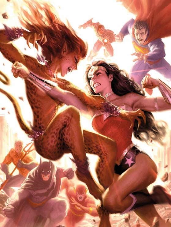 Wonder Woman (DC Comics) Character Review - Wonder Woman Vs Cheetah