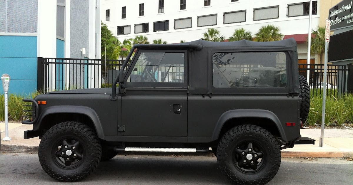 Exotic Cars On The Streets Of Miami Matte Gray Black