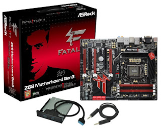 Mainboard ASRock Fatal1ty Z68 Professional Gen3