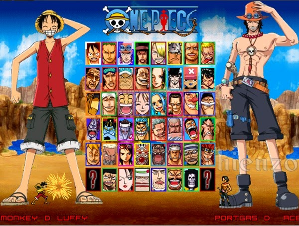 One Piece Mugen PC Gameplay