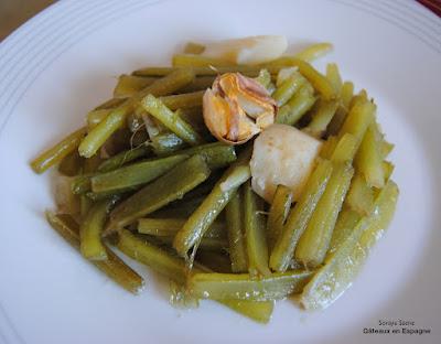 perdre du poids legumes recette bourrache specialites espagnoles cuisine