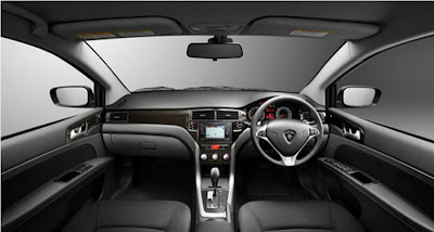 2012 Proton Preve Interior.