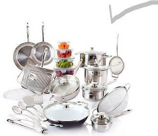 Wolfgang Puck Bistro Elite 33-piece Signature Cookware Set
