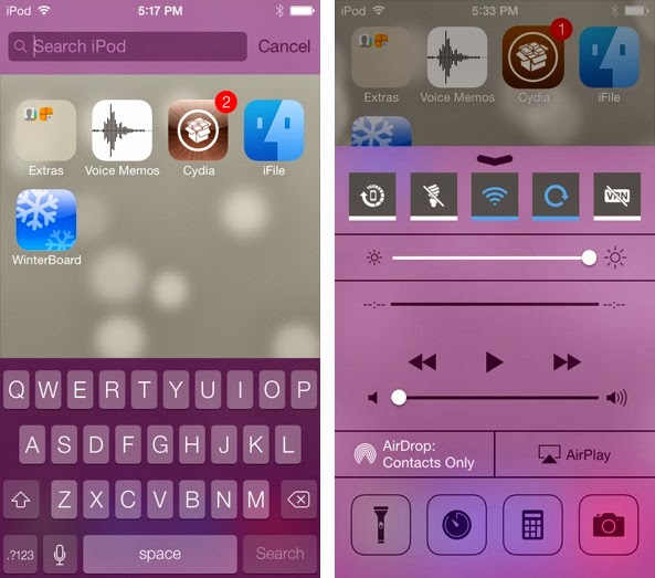 An awesome new jailbreak tweak that colorizes iOS 7, is now available on Cydia's ModMyi repo. Check out what you can change all with this great tweak
