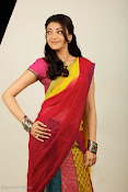 Kajal Agarwal Cute Half Saree Hot photo Shoot-thumbnail-11