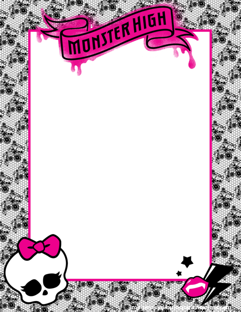 Monster High Borders