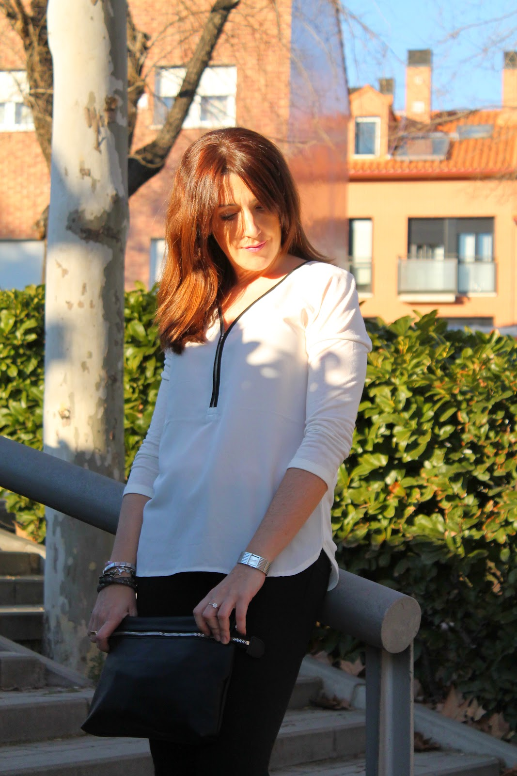 Look del mes. Black & White